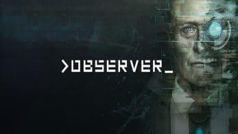 Observer será lanzado en Nintendo Switch