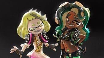 Este fan-art nos muestra más diseños iniciales de Marina y Perla de Splatoon 2