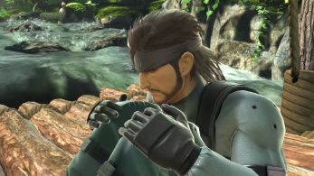 El actor de voz de Snake no ha grabado nuevos códecs para Super Smash Bros. Ultimate