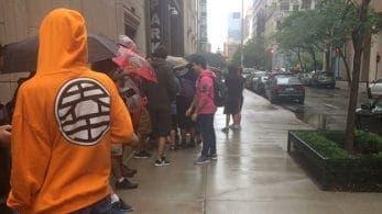 Las colas para probar la demo de Super Smash Bros. Ultimate en Best Buy cubrían calles completas