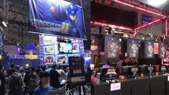 Vídeos e imágenes de los puestos de varios juegos en el TGS 2018: Mega Man 11, Flyhigh Works y más