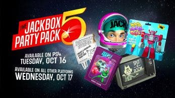 The Jackbox Party Pack 5 llega a Nintendo Switch el 17 de octubre