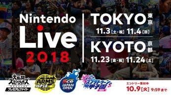 Nintendo Live 2018 llegará en noviembre a Tokio y Kioto