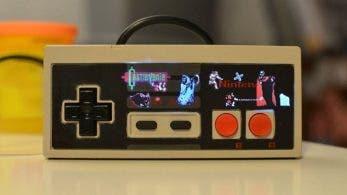 Echa un vistazo a este mando de NES con luces LCD basadas en Castlevania