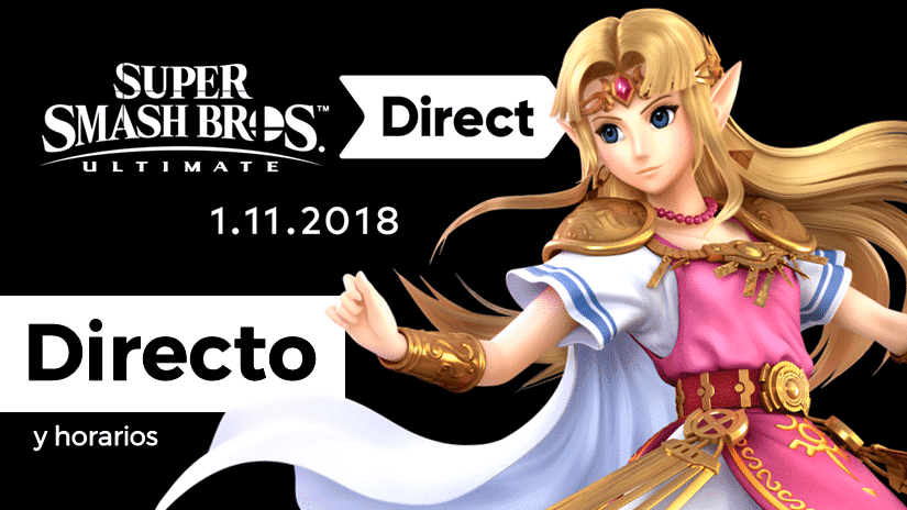 [Act.] ¡Sigue aquí en directo el nuevo Super Smash Bros. Ultimate Direct y el Nintendo Treehouse: Live!