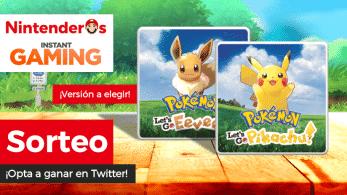 [Act.] ¡Sorteamos 2 copias de Pokémon: Let's Go, Pikachu! / Eevee! junto a Instant Gaming!