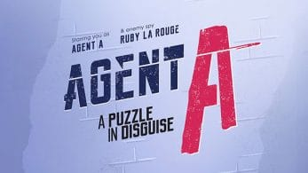 Agent A: A puzzle in disguise llegará a Nintendo Switch en 2019