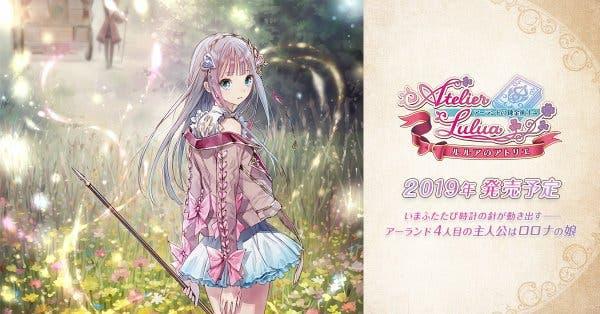 Ya disponible la web japonesa de Atelier Lulua: The Alchemist of Arland 4