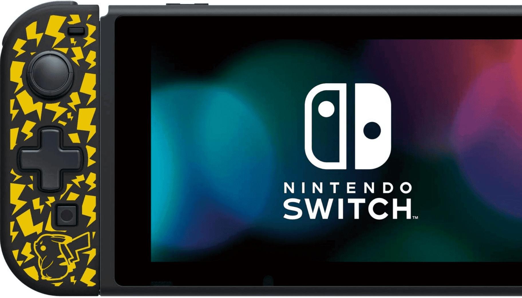HORI publicará una versión de Pikachu de su Joy-Con con D-pad
