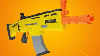 Hasbro publicará una réplica de juguete de un fusil de Fortnite