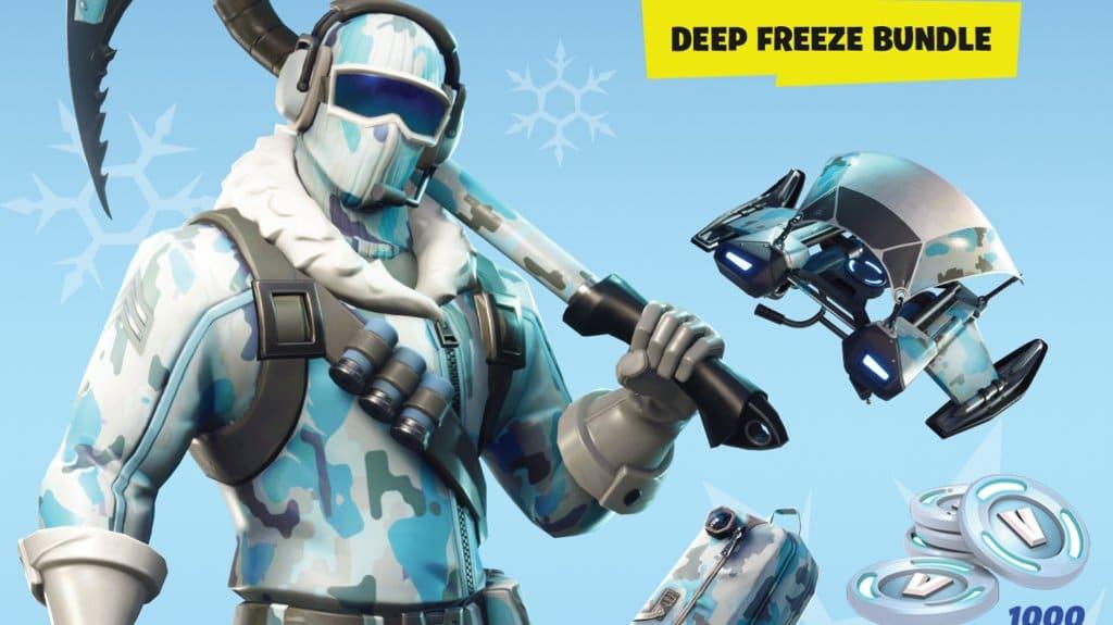 Act Fortnite Deep Freeze Bundle Una Version Fisica De Fortnite