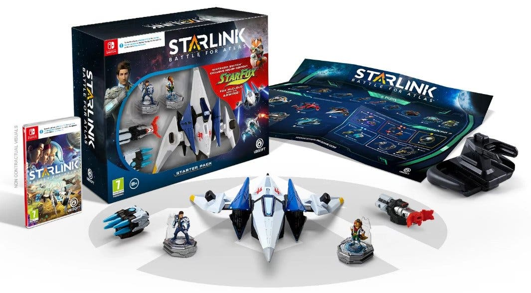 Unboxing del Starlink: Battle for Atlas + Star Fox Starter Bundle para Switch