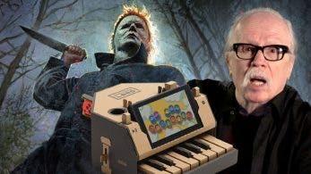 John Carpenter se anima a tocar el tema de Halloween con el piano de Nintendo Labo