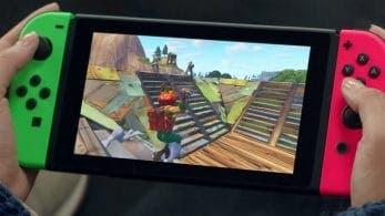 Echad un vistazo a este vídeo promocional de Fortnite en Nintendo Switch