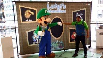 Echa un vistazo a la genial fiesta de estreno de Luigi's Mansion en Nintendo NY