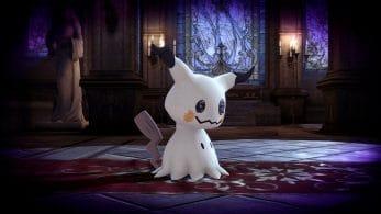 El Pokémon Mimikyu protagoniza la última entrada del blog oficial de Super Smash Bros. Ultimate
