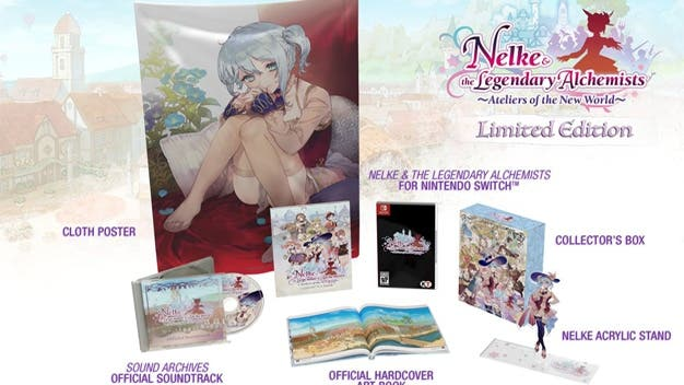 Una edición limitada de Nelke & the Legendary Alchemists: Ateliers of the New World se lanzará en 2019