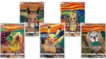 """The Pokémon Company lanzará cartas inspiradas en """"El grito"""" de Munch para el JCC"""