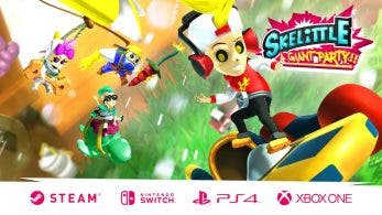 Skelittle : A Giant Party!! para Nintendo Switch busca financiación en Kickstarter