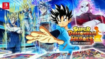 Super Dragon Ball Heroes: World Mission presenta el editor de cartas en un nuevo tráiler