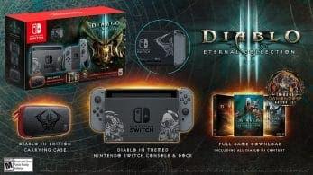 Francia contará con 10 mil unidades de la Edición Limitada de Diablo III para Nintendo Switch en su lanzamiento