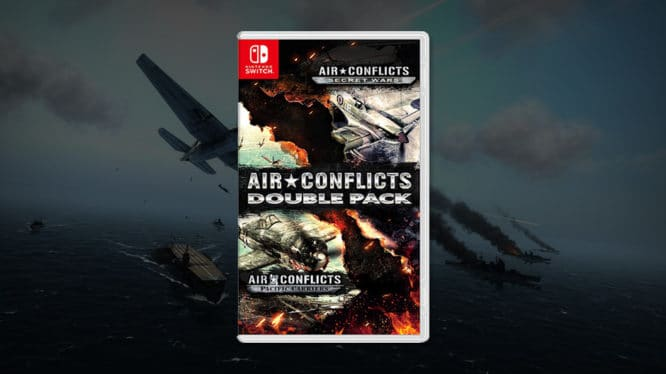 Air Conflicts: Secret Wars y Air Conflicts: Pacific Carriers llegarán a Nintendo Switch