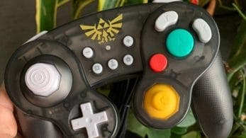 Nuevas imágenes del mando de GameCube de Zelda hecho por Hori