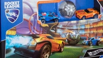 Los juguetes de Hot Wheels Rocket League Rivals Set se lanzarán el próximo 1 de noviembre