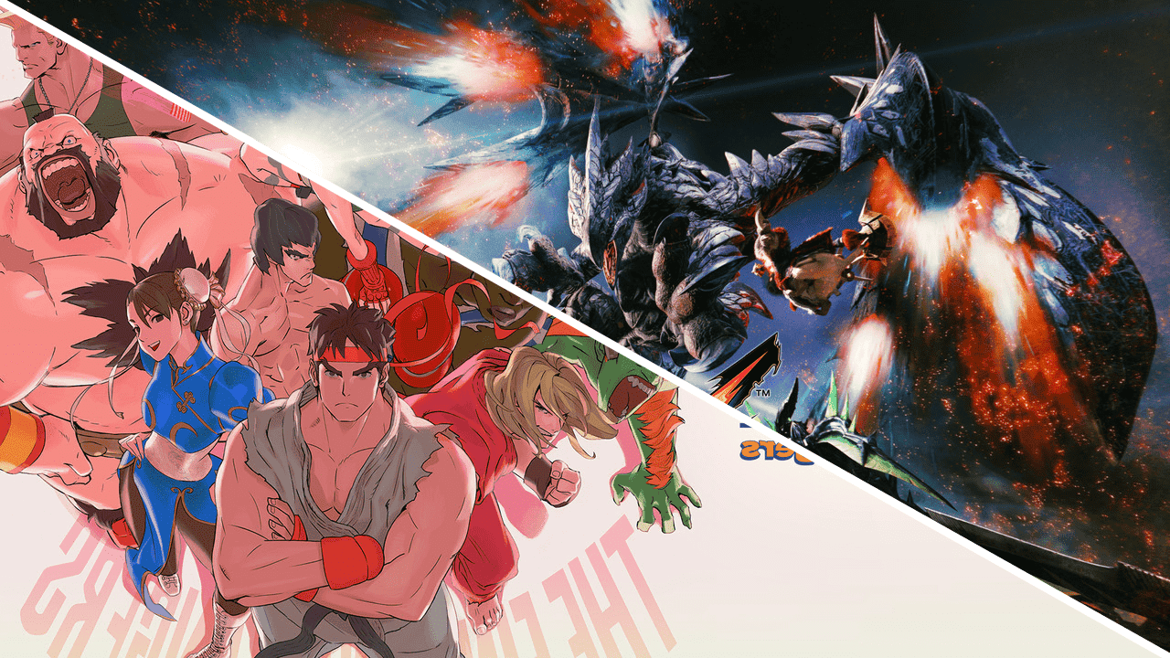 [Act.] Monster Hunter XX y Ultra Street Fighter II: The Final Challengers recibirán un descuento en la eShop japonesa de Switch