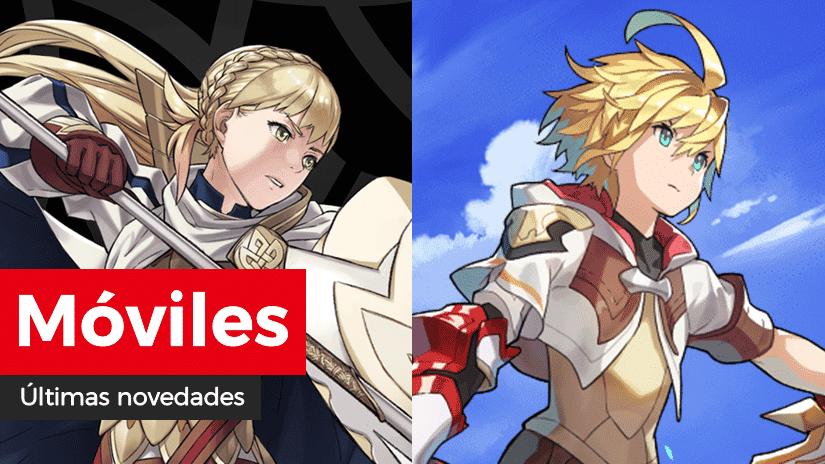 Novedades para móviles: Avance de nuevos héroes: Adalides de Gallia y Creando lazos: Un gran deber en Fire Emblem Heroes y nueva ilustración y capítulo del manga en Dragalia Lost