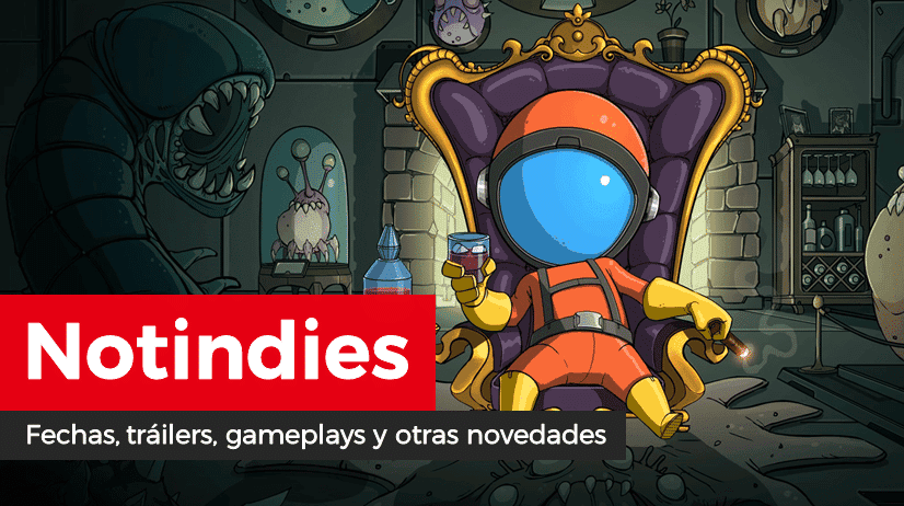 Novedades indies: The Bug Butcher, Save me Mr Tako, Gal Metal, Root Letter, The Caligula Effect: Overdose, Yomawari, Little Friends, Transistor y más