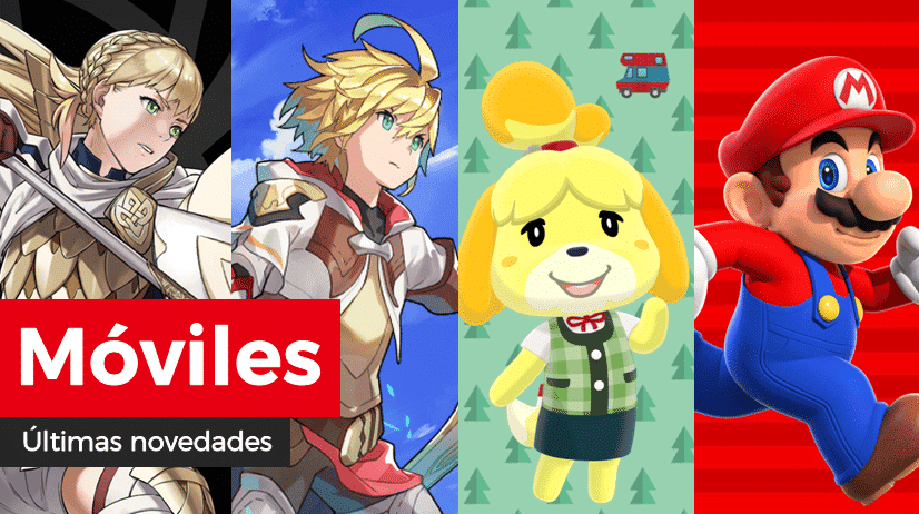 [Act.] Novedades para móviles: Avance del evento de preferencia de Alm, Rey Santo y más en Fire Emblem Heroes, galleta Luna y más en Animal Crossing: Pocket Camp, Fire Emblem: Lost Heroes y más en Dragalia Lost y aumento de objetos de 5★ en Remix 10 en Super Mario Run