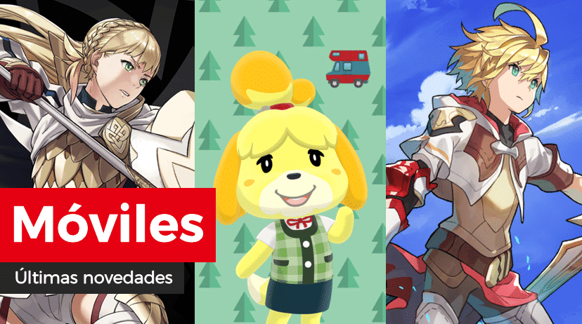 Novedades para móviles: Preferencia: Héroes con Gelidez y más en Fire Emblem Heroes, camisetas Splatoon 2 Final Fest de regalo en Animal Crossing: Pocket Camp y evento en Midgardsormr's Trial y más en Dragalia Lost
