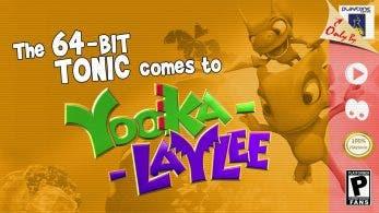 Playtonic habla sobre el desarrollo del 64-bit Tonic de Yooka-Laylee, los desafíos encontrados y más