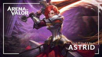 Mañana llega una nueva Heroína a Arena of Valor para Nintendo Switch: Astrid