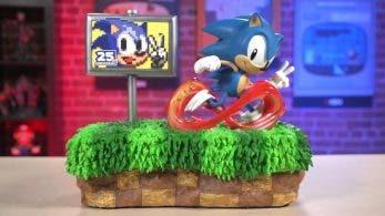 Un vistazo en vídeo a la figura de First 4 Figures del 25º aniversario de Sonic valorada en 380$