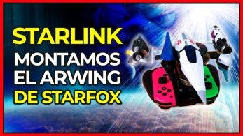 [Vídeo] ¡Montamos el Arwing! Así funcionan las naves de Starlink: Battle for Atlas