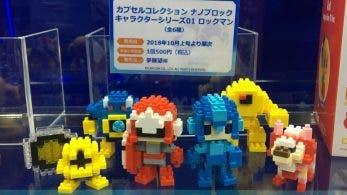 La primera serie de las figuritas Capsule Collection Nanoblock X Mega Man llegarán este mes a Japón