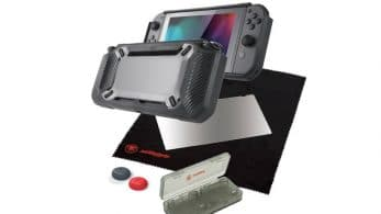 Un nuevo kit de accesorios de Snakebyte queda confirmado para Nintendo Switch