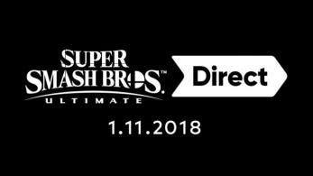 [Act.] Anunciado Super Smash Bros. Ultimate Direct y Nintendo Treehouse: Live para el 1 de noviembre