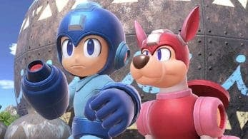 "[Act.] El blog oficial de Super Smash Bros. Ultimate nos presenta el tema ""Flash Man Stage"" de Mega Man y el escenario Prados Verdes"