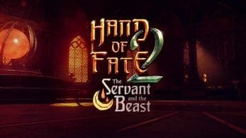 Hand of Fate 2 recibirá el contenido adicional The Servant and the Beast en Switch pronto
