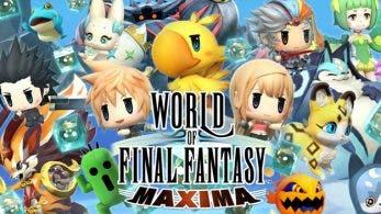 World of Final Fantasy Maxima para Nintendo Switch tendrá un lanzamiento físico en Asia