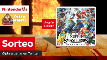 [Act.] ¡Sorteamos una copia de Super Smash Bros. Ultimate junto a Peli o Manta!