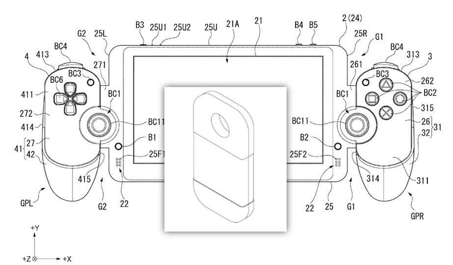 [Act.] Sony registra un cartucho de juego electrónico que podría estar relacionado con su patente similar a Nintendo Switch