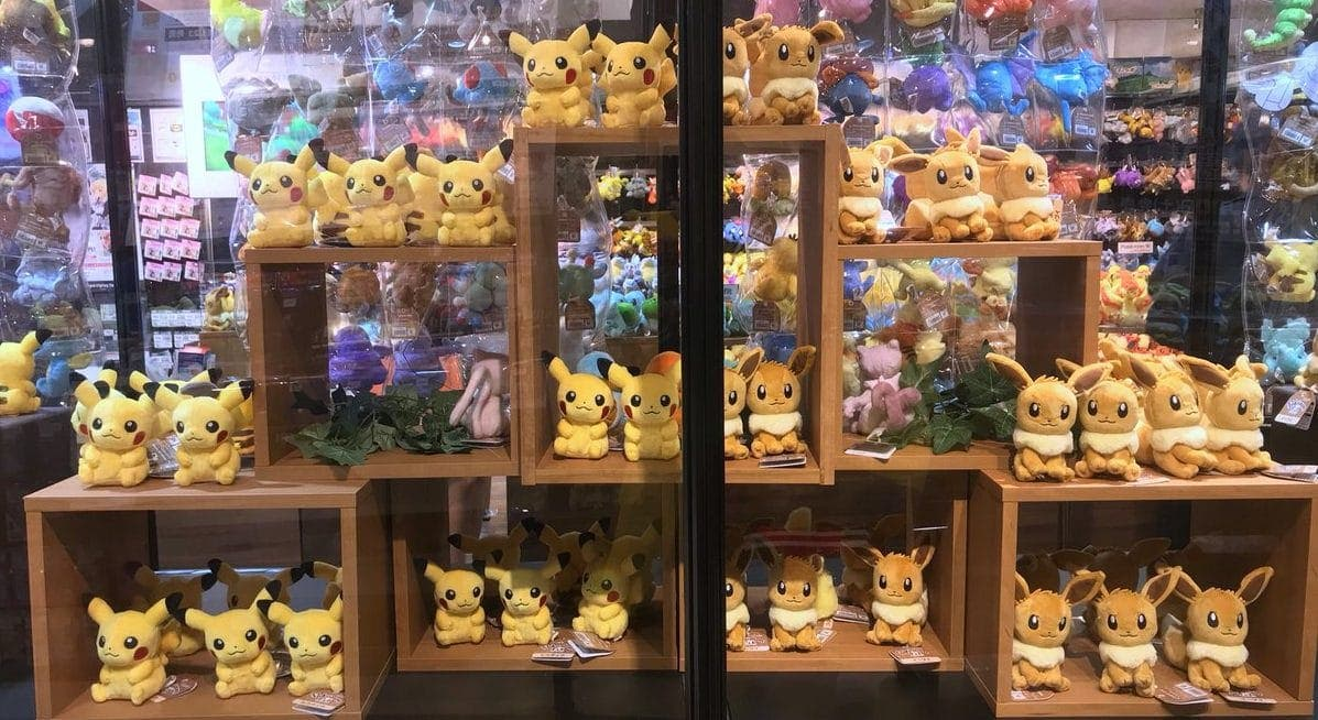 [Act.] Las tiendas de Pokémon Let's Go ya han abierto en Japón y así es como lucen