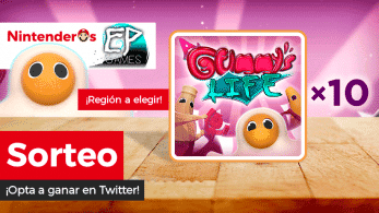 [Act.] ¡Sorteamos 10 copias de A Gummy's Life para Nintendo Switch junto a EP Games!