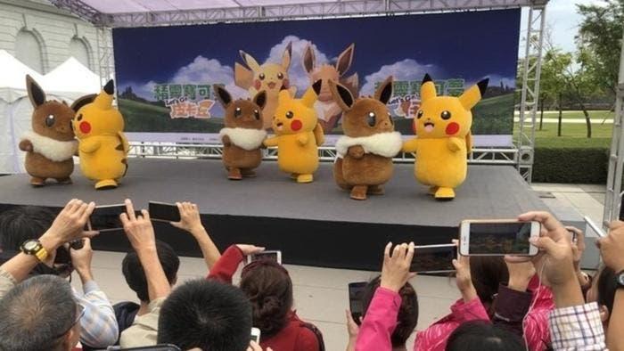Échale un vistazo a estas imágenes del evento Pokémon GO Safari Zone en Taiwán