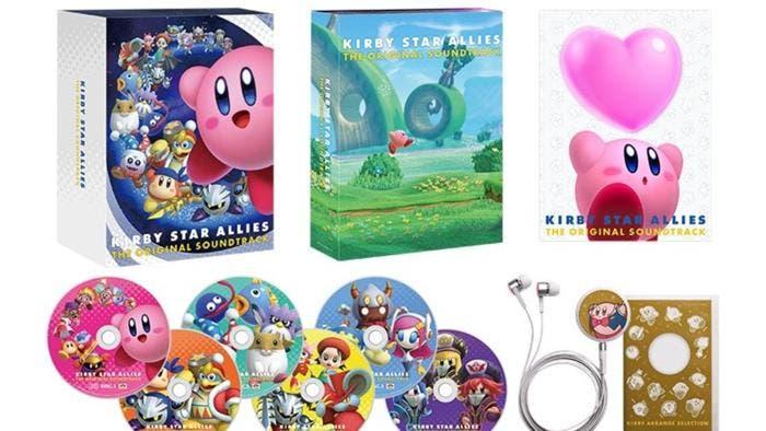 Nintendo lanzará la banda sonora oficial de Kirby Star Allies en Japón