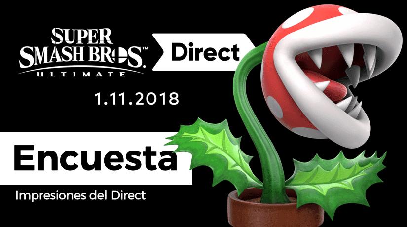 [Encuesta] ¿Qué te ha parecido el Super Smash Bros. Ultimate Direct?